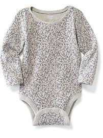 Crew-Neck Bodysuit for Baby