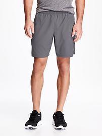 """Go-Dry Running Shorts for Men (9"""")"""