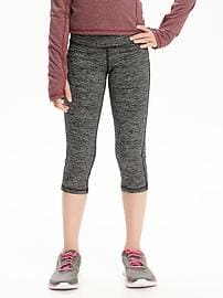 Capri Go-Dry Old Navy Active à micro rayures pour fille