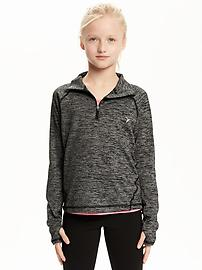 Go-Dry 1/4-Zip Pullover for Girls
