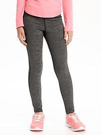 Go-Warm Mini-Stripe Leggings for Girls