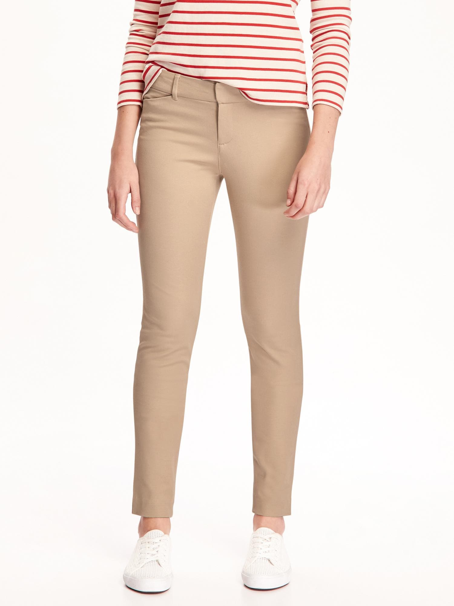 904421071 Mid-Rise Pixie Full-Length Pants for Women | Old Navy