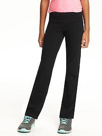 Jersey Yoga Pants for Girls