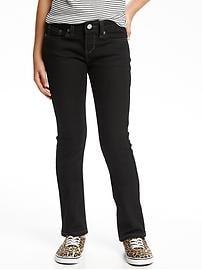 Girls Black Skinny Jeans