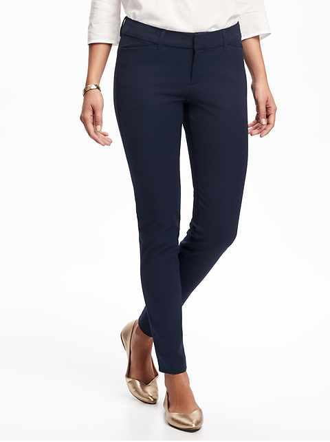 Mid-Rise Pixie Full-Length Pants for Women