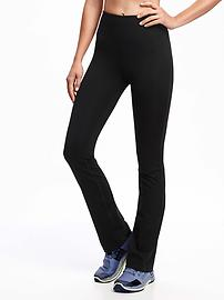 High-Rise Straight Compression Pants for Women
