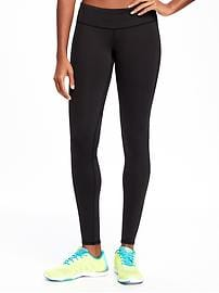 Mid-Rise Compression Run Leggings for Women