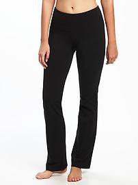 Mid-Rise Yoga Boot-Cut Pants for Women