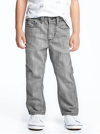 Gray Skinny Jeans for Toddler Boys