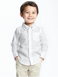 Chemises Oxford pour tout-petit garçon