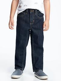 Dark-Wash Skinny Jeans for Toddler Boys