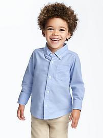 Uniform Oxford Shirt for Toddler Boys