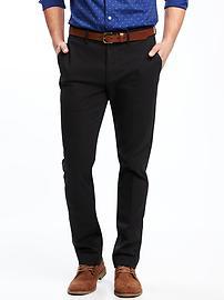 Pantalon sans repassage coupe cintrée pour homme