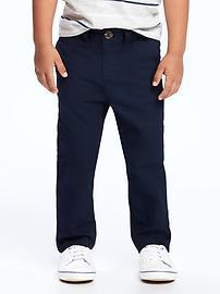 Skinny Pop-Color Khakis for Toddler Boys