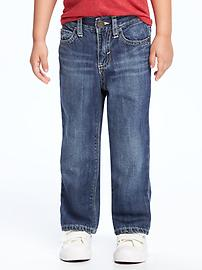 Straight-Fit Jeans for Toddler Boys