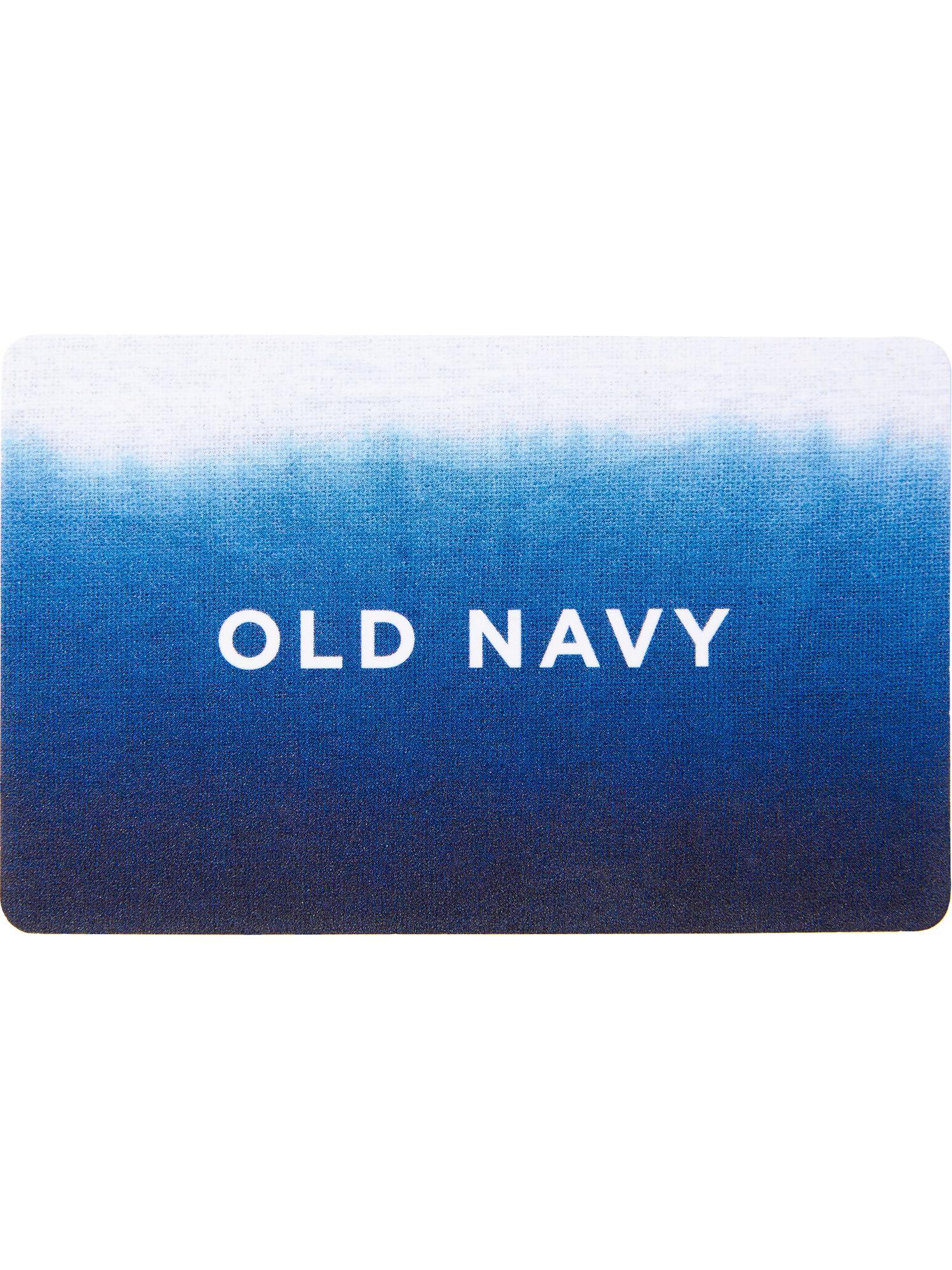 2c528de768 Old Navy Gift Card