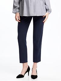 Maternity Premium Full-Panel Harper Pants