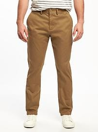 Athletic Ultimate Built-In Flex Khakis for Men