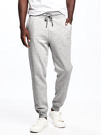 Pantalon d'exercice en molleton pour homme
