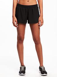 Semi-Fitted Run Shorts for Women