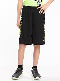 Go-Dry Cool Basketball Shorts for Boys