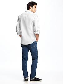 4e3a6337 Slim-Fit Clean-Slate Everyday Oxford Shirt for Men | Old Navy