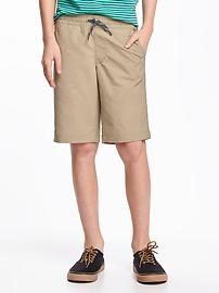 Flat-Front Hybrid Shorts for Boys
