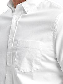 591090faf43 Slim-Fit Clean-Slate Built-In Flex Everyday Oxford Shirt for Men ...