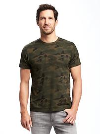 T-shirt col rond doux pour homme