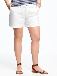 "Mid-Rise Plus-Size Everyday Shorts (5"")"