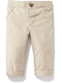 Rolled-Cuff Skinny Chinos for Baby