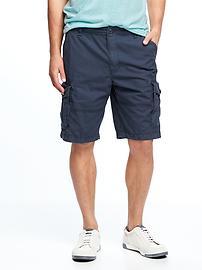 Short cargo en toile pour homme (27cm)