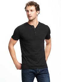 Jersey Henley for Men