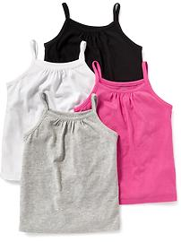 Cami 4-Pack for Toddler Girls