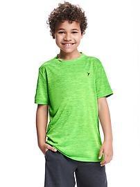 T-shirt Go-Dry décontracté pour garçon