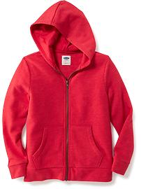 Full-Zip Fleece Hoodie for Boys