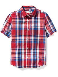 Patterned Classic Shirt for Boys