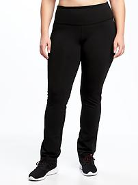 High-Rise Go-Dry Plus-Size Compression Pants