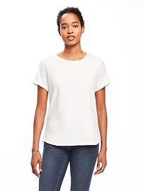 EveryWear Clean-Slate Relaxed Tee for Women