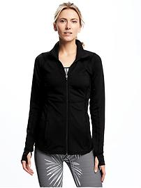 Full-Zip Compression Jacket for Women