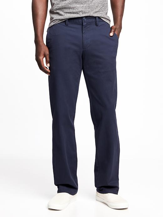 Straight Ultimate Built-In Flex Chinos for Men