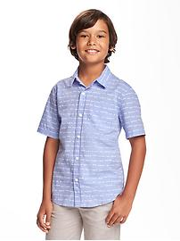 Classic Printed Shirt for Boys