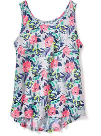 Jersey Sleep Tank for Girls