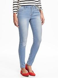 Mid-Rise Super Skinny Jeans for Women