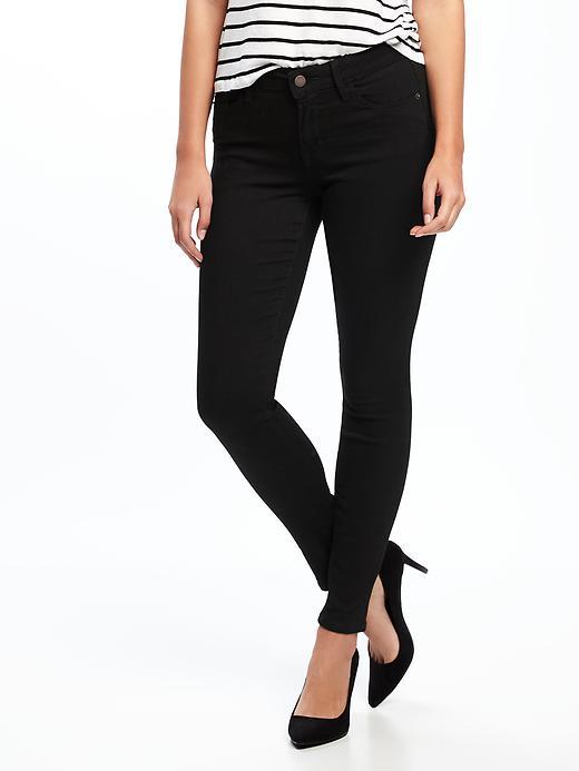 71bf9ee4171ceb Mid-Rise Black Rockstar Super Skinny Jeans for Women