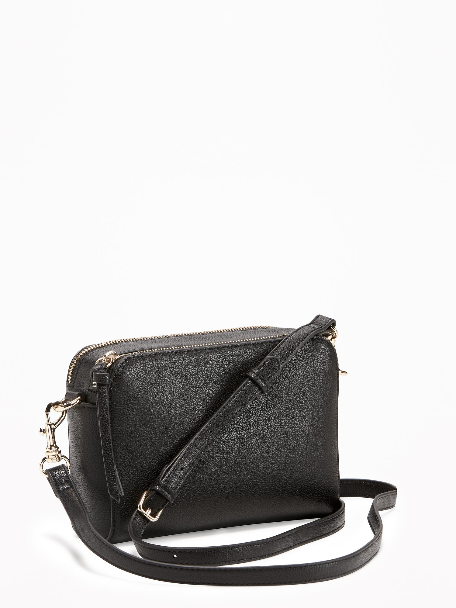 Faux-Leather Camera Bag for Women   Old Navy 3172147b20