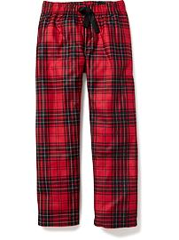 Patterned Flannel Sleep Pants for Boys