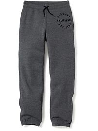 Logo-Graphic Fleece Joggers for Boys