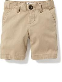 Twill Uniform Bermudas for Toddler
