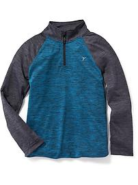Relaxed Go-Dry 1/4-Zip Pullover for Boys